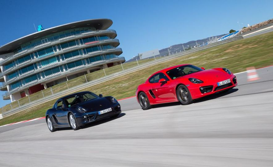 2014 Porsche Cayman S and Cayman - Slide 6
