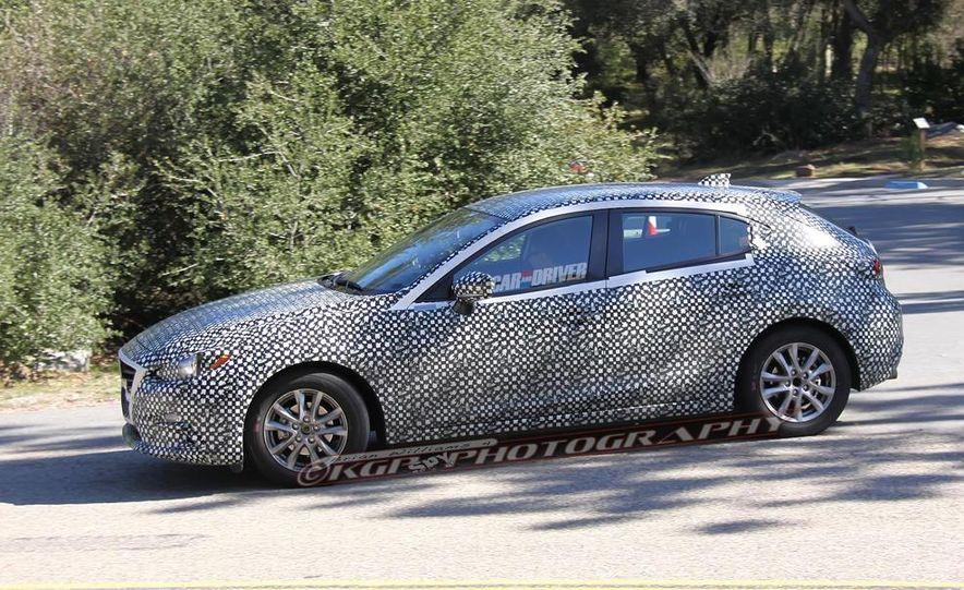 2015 Mazda 3 5-door (spy photo) - Slide 6