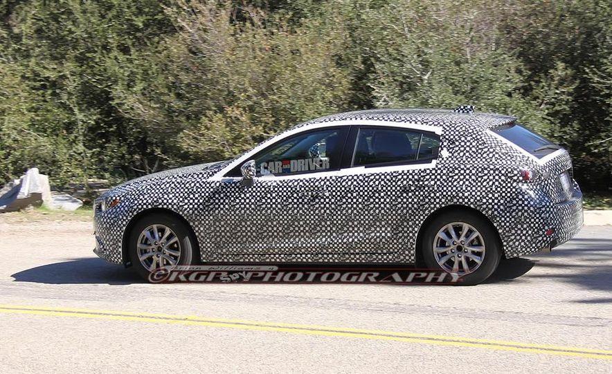 2015 Mazda 3 5-door (spy photo) - Slide 8