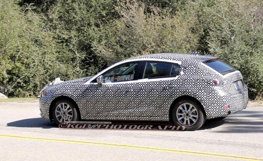 2015 Mazda 3 5-door (spy photo) - Slide 9