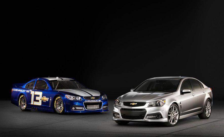 2014 Chevrolet SS Nascar race car and 2014 Chevrolet SS - Slide 1