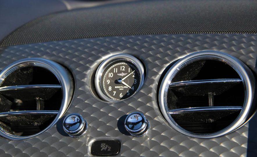 2014 Bentley Continental GT Speed W12 convertible - Slide 53