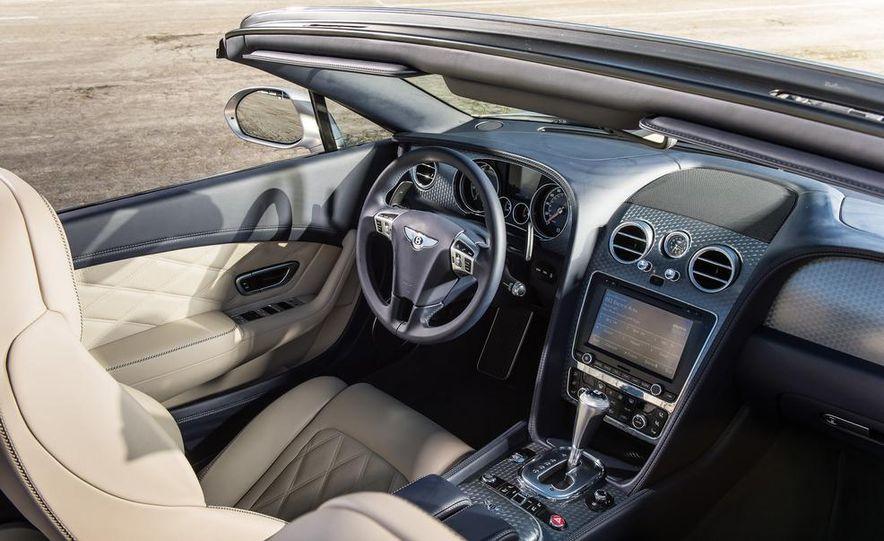 2014 Bentley Continental GT Speed W12 convertible - Slide 49