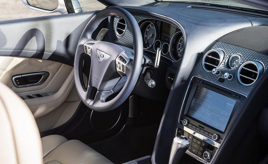 2014 Bentley Continental GT Speed W12 convertible - Slide 50