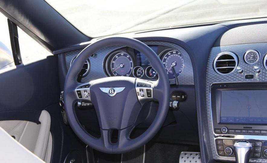 2014 Bentley Continental GT Speed W12 convertible - Slide 51