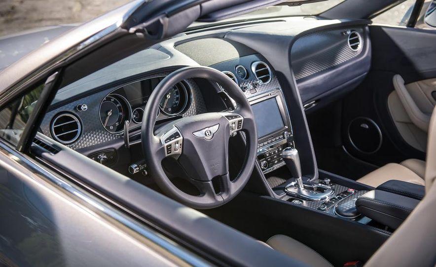 2014 Bentley Continental GT Speed W12 convertible - Slide 52