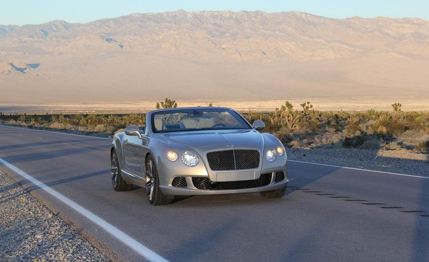 2014 Bentley Continental GT Speed W12 convertible - Slide 13