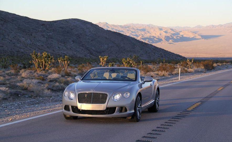 2014 Bentley Continental GT Speed W12 convertible - Slide 14