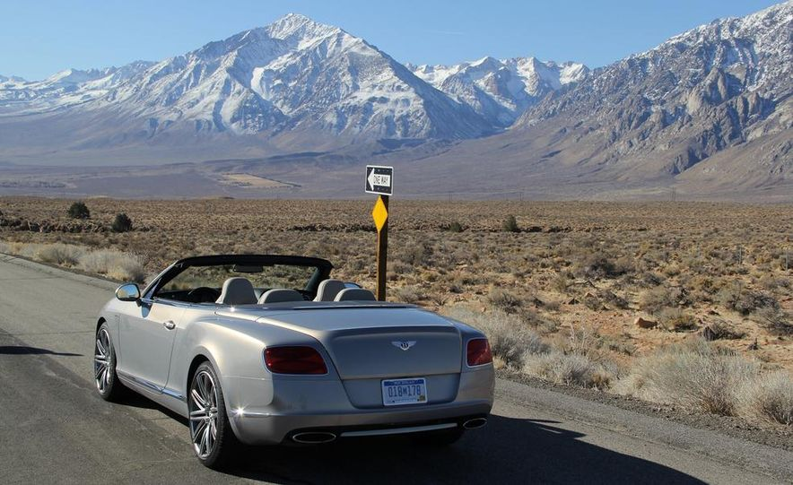 2014 Bentley Continental GT Speed W12 convertible - Slide 24