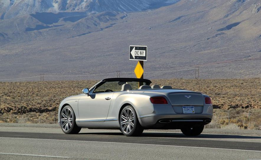 2014 Bentley Continental GT Speed W12 convertible - Slide 25