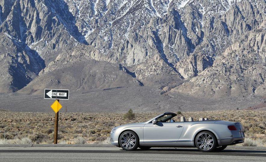 2014 Bentley Continental GT Speed W12 convertible - Slide 28