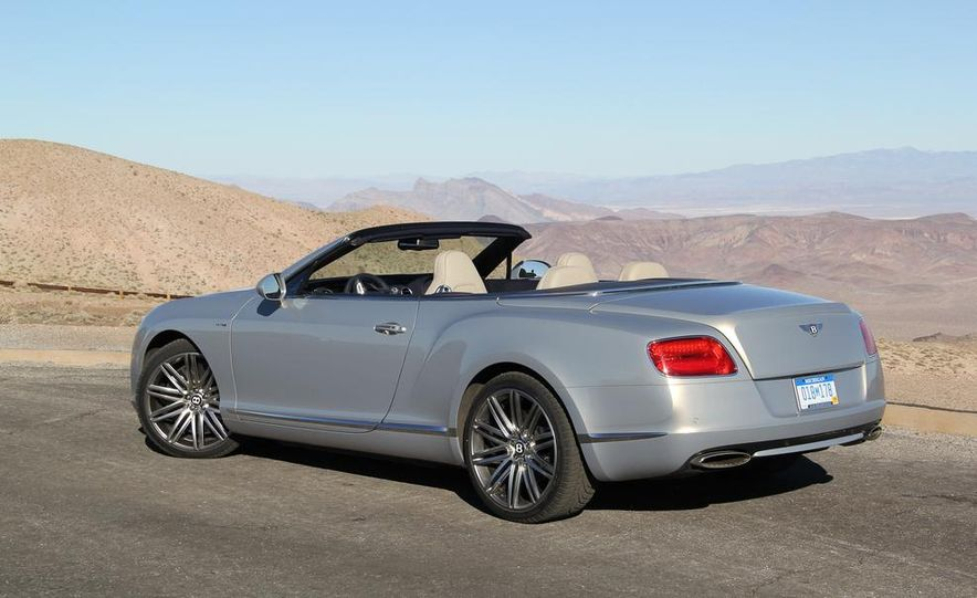 2014 Bentley Continental GT Speed W12 convertible - Slide 36
