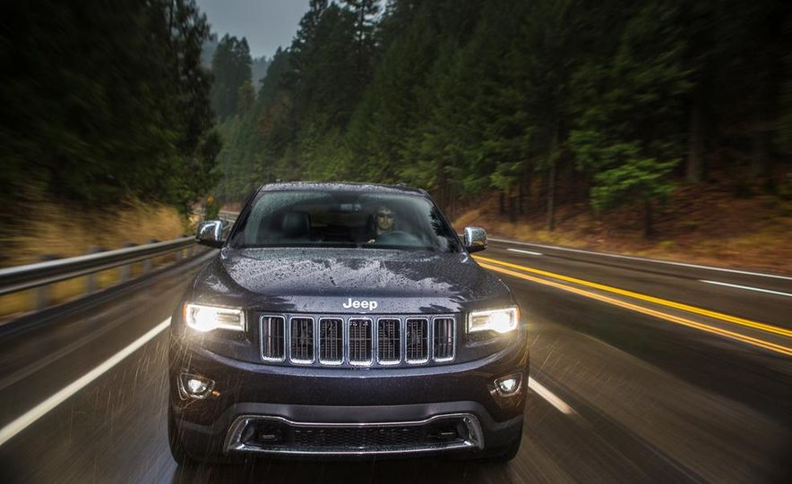 2014 Jeep Grand Cherokee Overland - Slide 25
