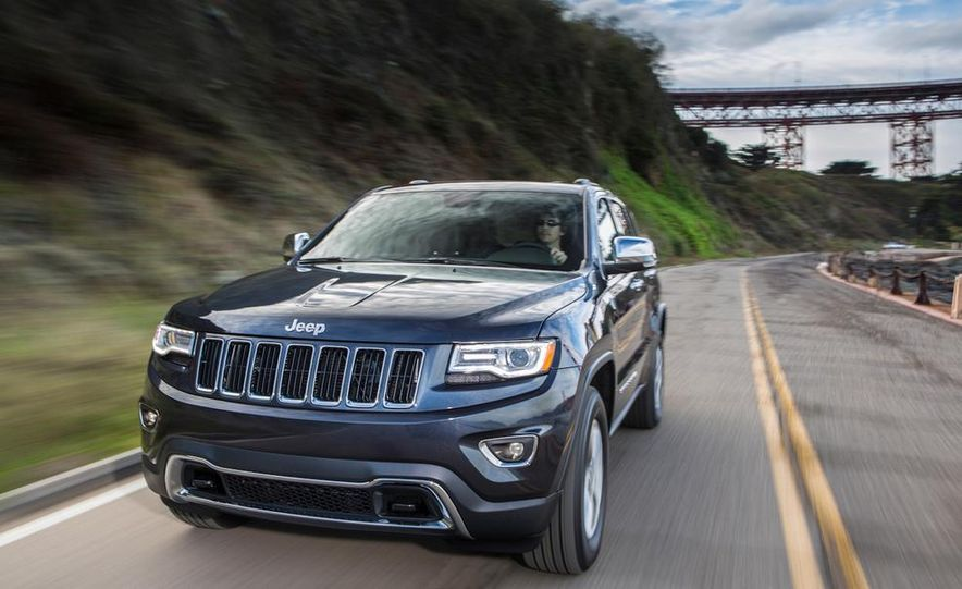 2014 Jeep Grand Cherokee Overland - Slide 27