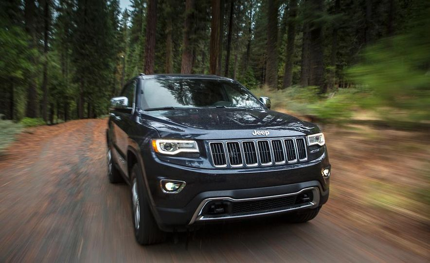 2014 Jeep Grand Cherokee Overland - Slide 32