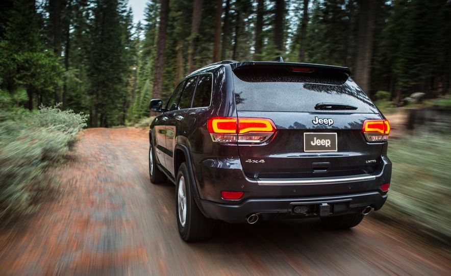 2014 Jeep Grand Cherokee Overland - Slide 33