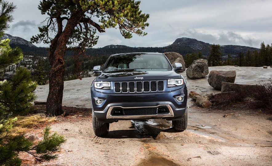 2014 Jeep Grand Cherokee Overland - Slide 39