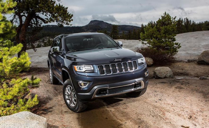 2014 Jeep Grand Cherokee Overland - Slide 40