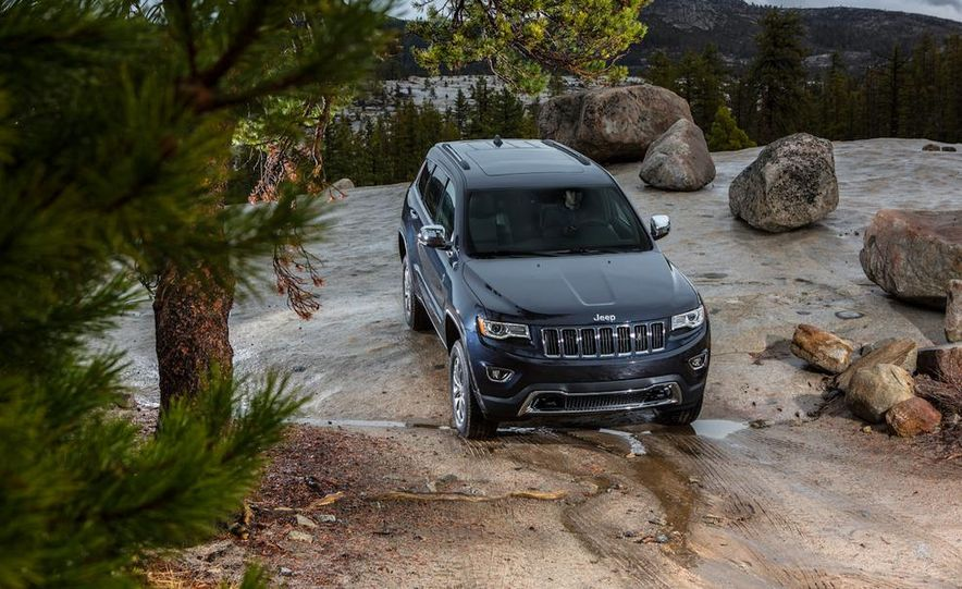 2014 Jeep Grand Cherokee Overland - Slide 41