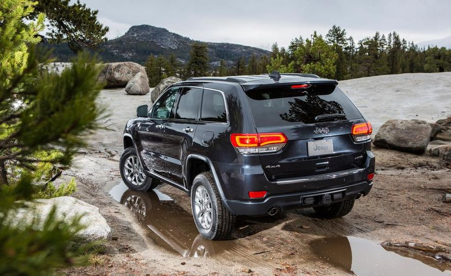 2014 Jeep Grand Cherokee Overland - Slide 42