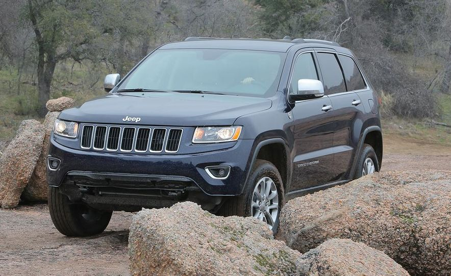 2014 Jeep Grand Cherokee Overland - Slide 16