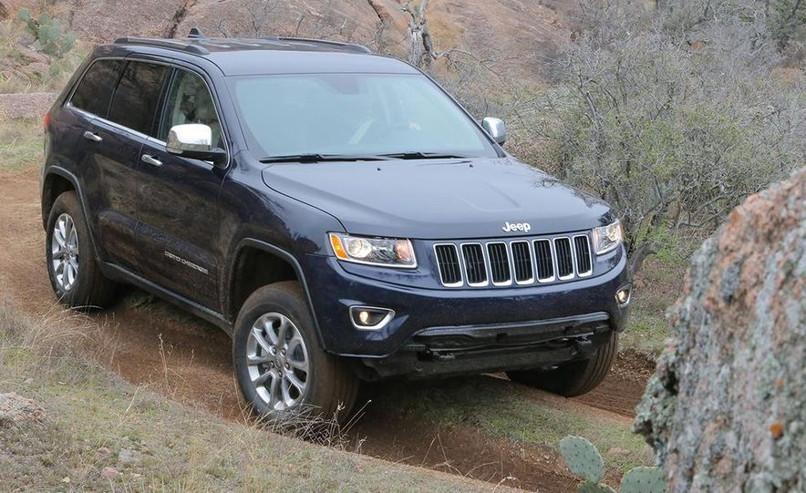 2014 Jeep Grand Cherokee Overland - Slide 18