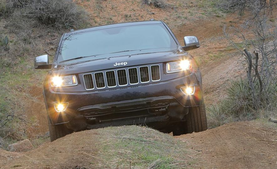2014 Jeep Grand Cherokee Overland - Slide 19