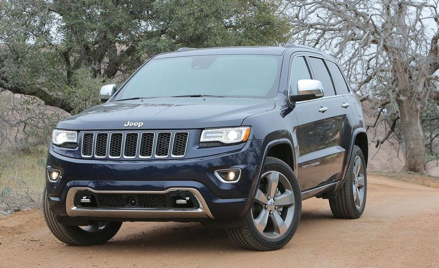 2014 Jeep Grand Cherokee Overland - Slide 1