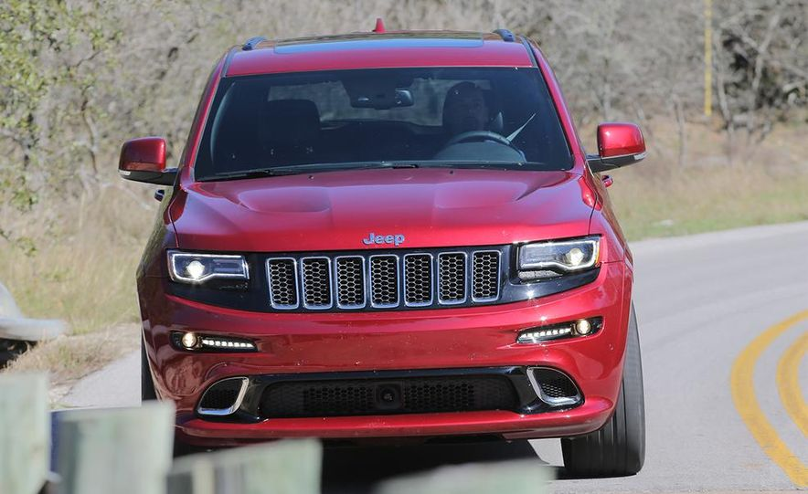 2014 Jeep Grand Cherokee SRT - Slide 3