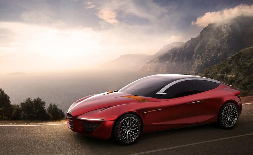 Alfa Romeo Gloria concept - Slide 1