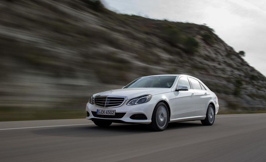 2014 Mercedes-Benz E250 sedan - Slide 1