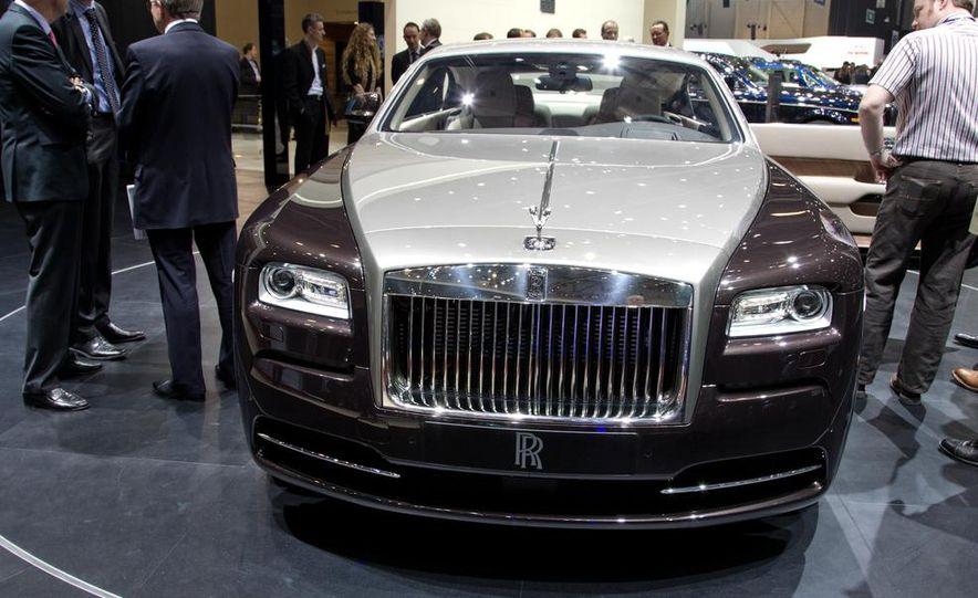 2014 Rolls-Royce Wraith - Slide 14