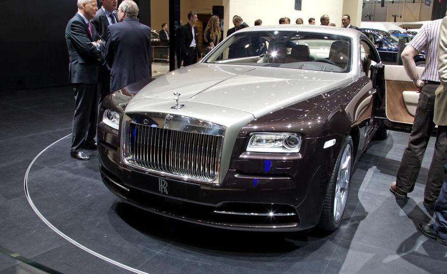 2014 Rolls-Royce Wraith - Slide 15