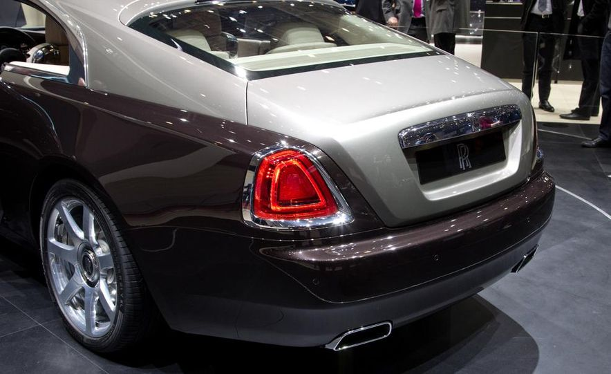2014 Rolls-Royce Wraith - Slide 25