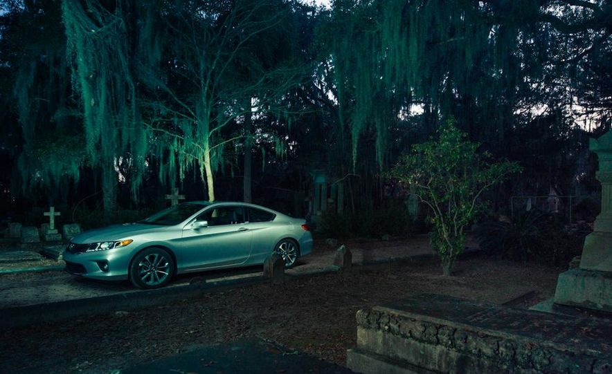 2013 Honda Accord EX-L V-6 coupe automatic - Slide 10