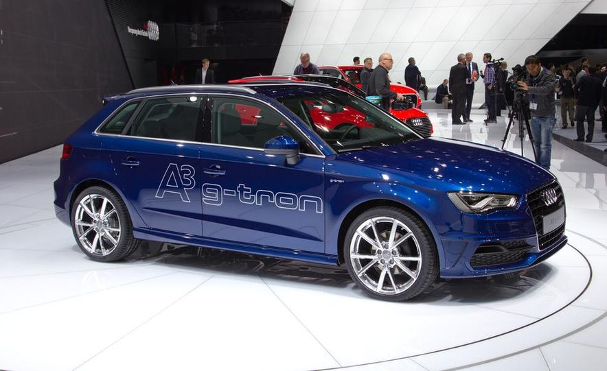 2014 Audi A3 Sportback g-tron - Slide 7
