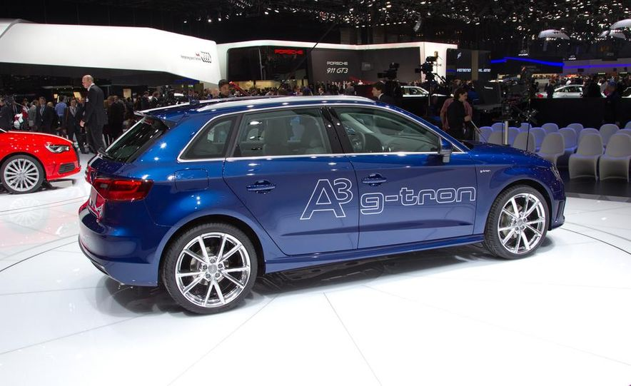 2014 Audi A3 Sportback g-tron - Slide 9