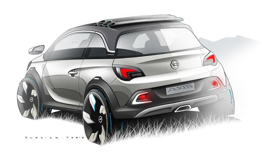 Opel Adam Rocks concept - Slide 19