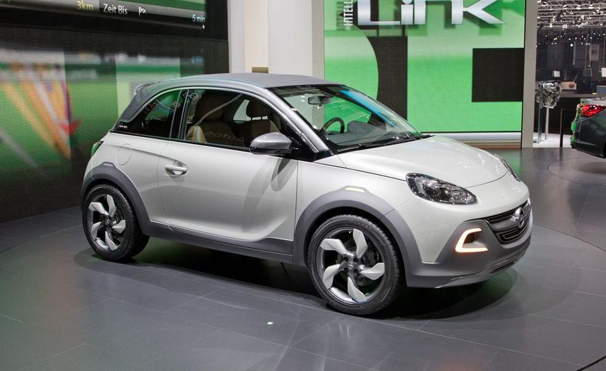 Opel Adam Rocks concept - Slide 1