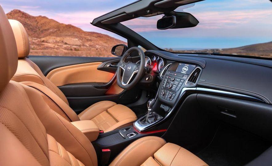 2014 Opel Cascada convertible - Slide 28