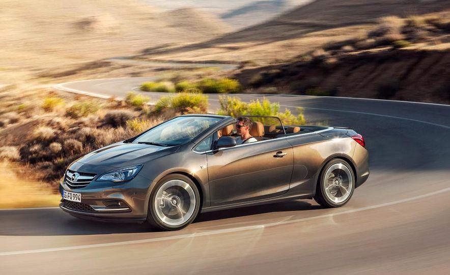 2014 Opel Cascada convertible - Slide 19