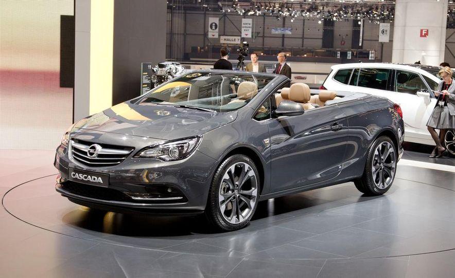 2014 Opel Cascada convertible - Slide 5