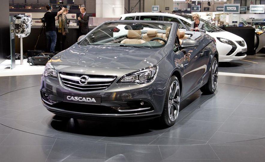 2014 Opel Cascada convertible - Slide 6