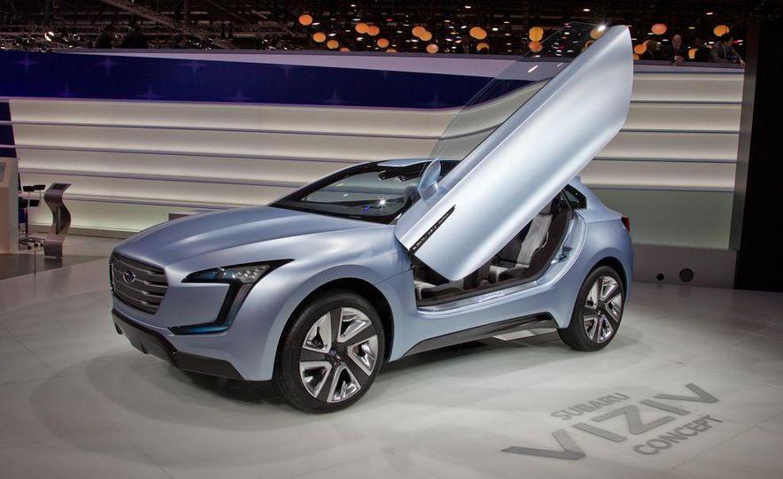 Subaru Viziv concept - Slide 1