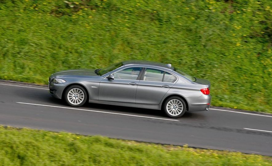 2014 BMW 5-Series (spy photo) - Slide 5