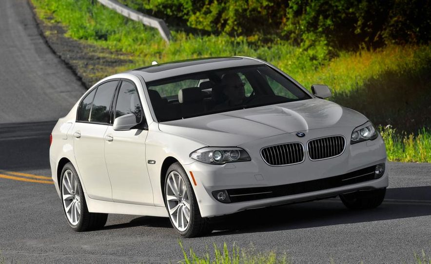 2014 BMW 5-Series (spy photo) - Slide 15