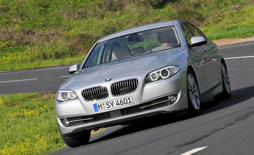 2014 BMW 5-Series (spy photo) - Slide 45