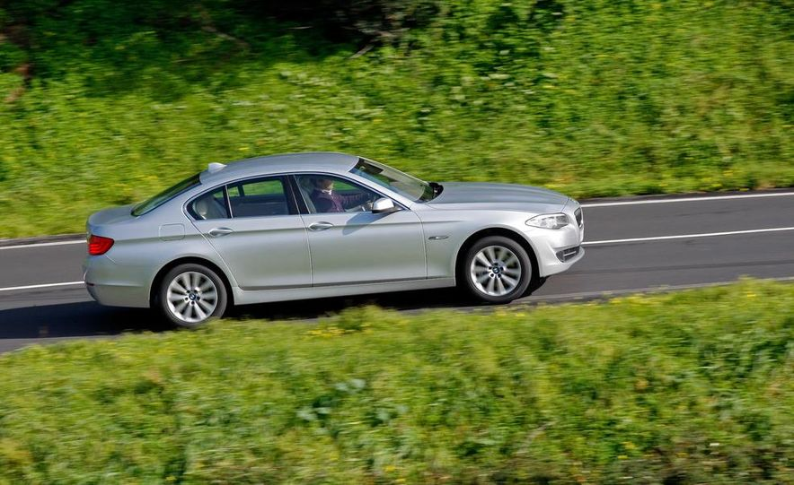 2014 BMW 5-Series (spy photo) - Slide 46