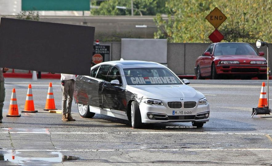2014 BMW 5-Series (spy photo) - Slide 1