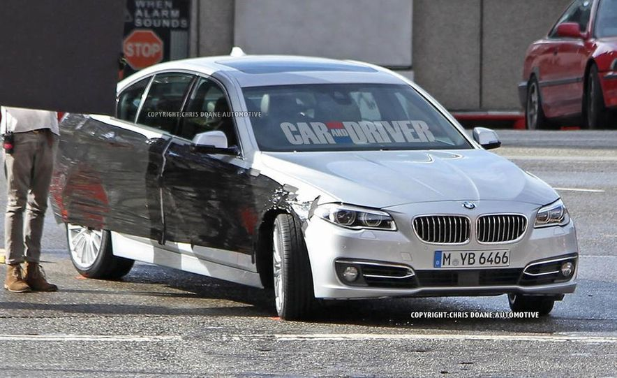 2014 BMW 5-Series (spy photo) - Slide 2